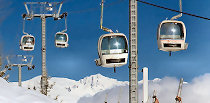 Three Valleys France - The Worlds Largest Ski Area